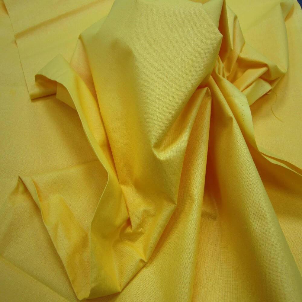Bawełna pościelowa szer.160 Kolor Żółty