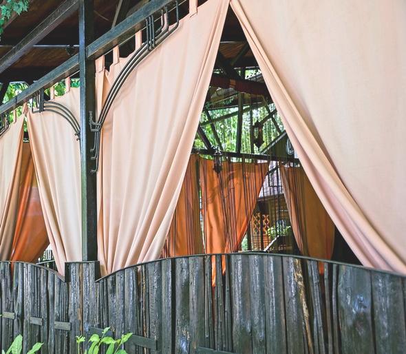 Zasłony ogrodowe wodoodporne, zasłony na taras